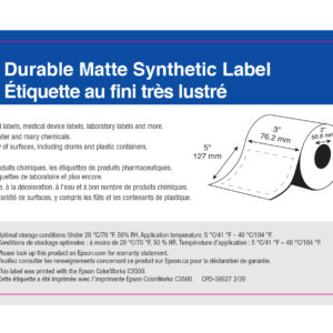 """3"""" x 5"""" GHS Chemical Label - 170 Labels (6-Pack)"""