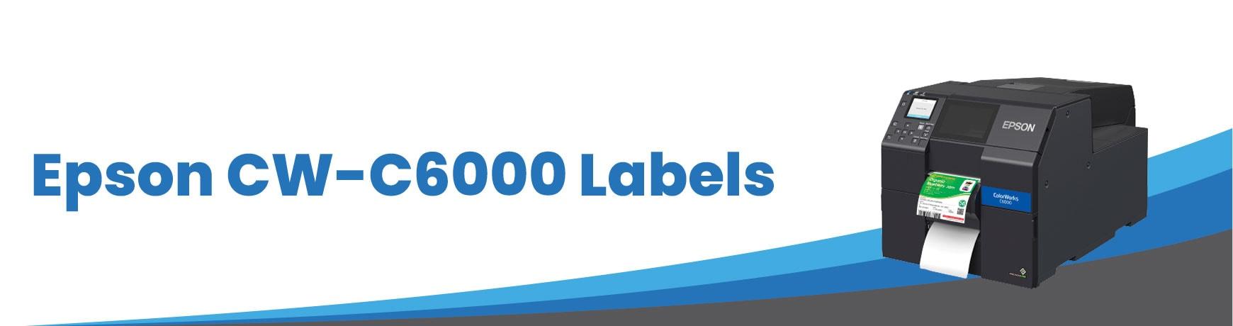 Epson CW-C6000 Labels