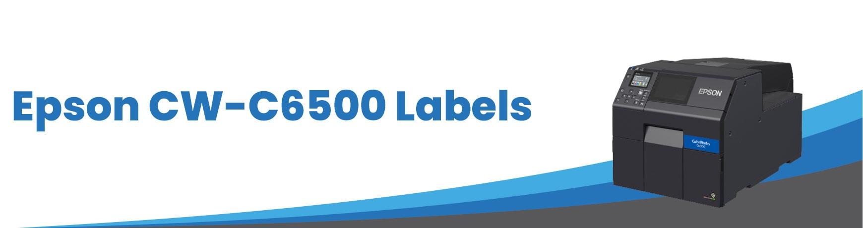 Epson CW-C6500 Labels
