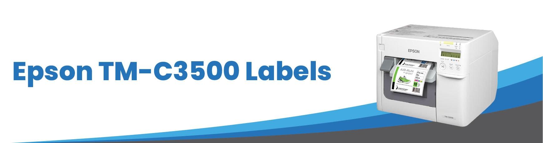 Epson TM-C3500 Labels