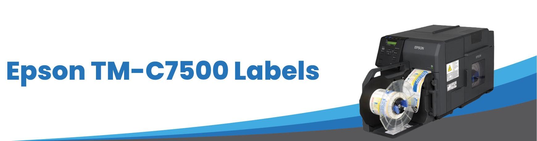 Epson TM-C7500 Labels