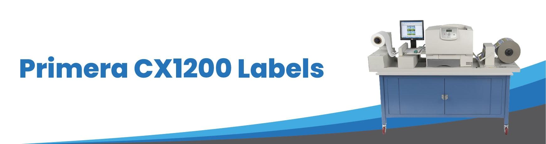 Primera CX1200 Labels