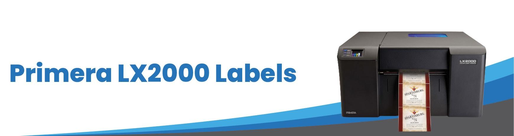 Primera LX2000/LX3000 Labels