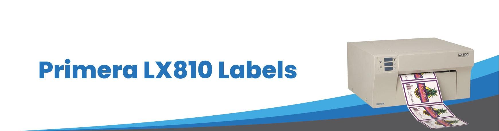 Primera LX810 Labels