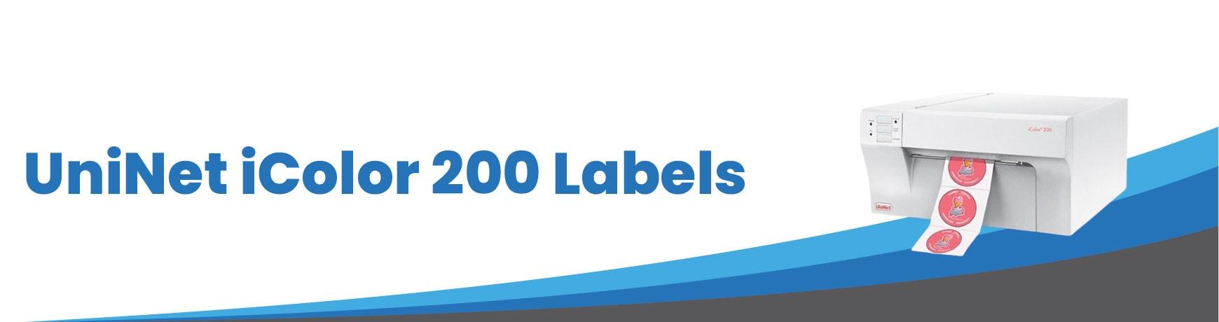 UniNet iColor 200 Labels