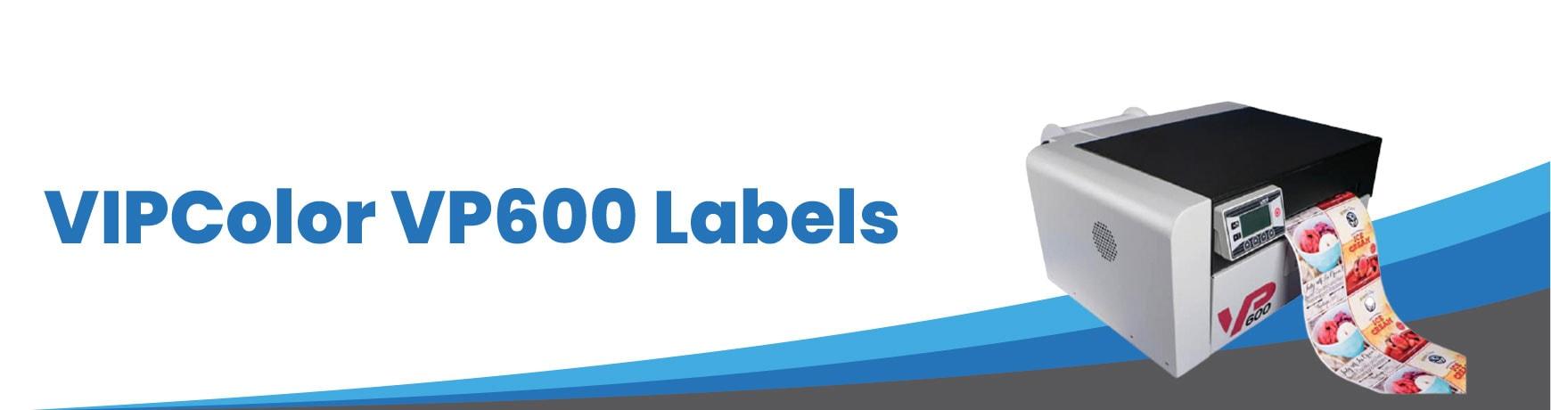VIPColor VP600 Labels