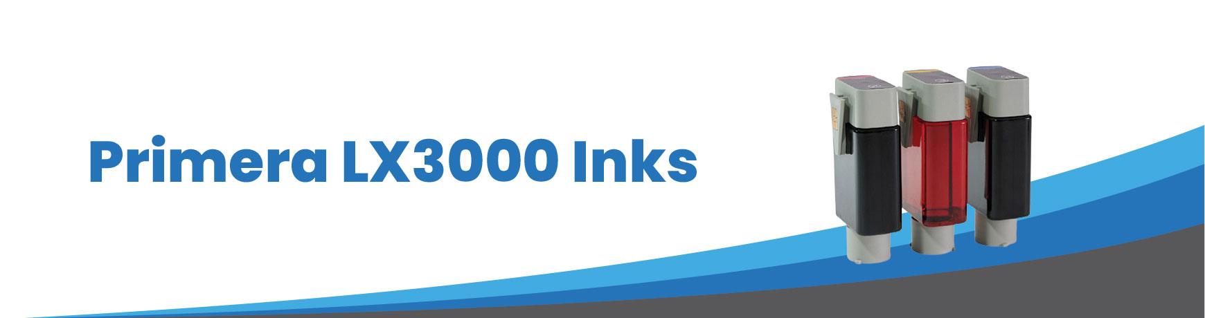 Primera LX3000 Inks
